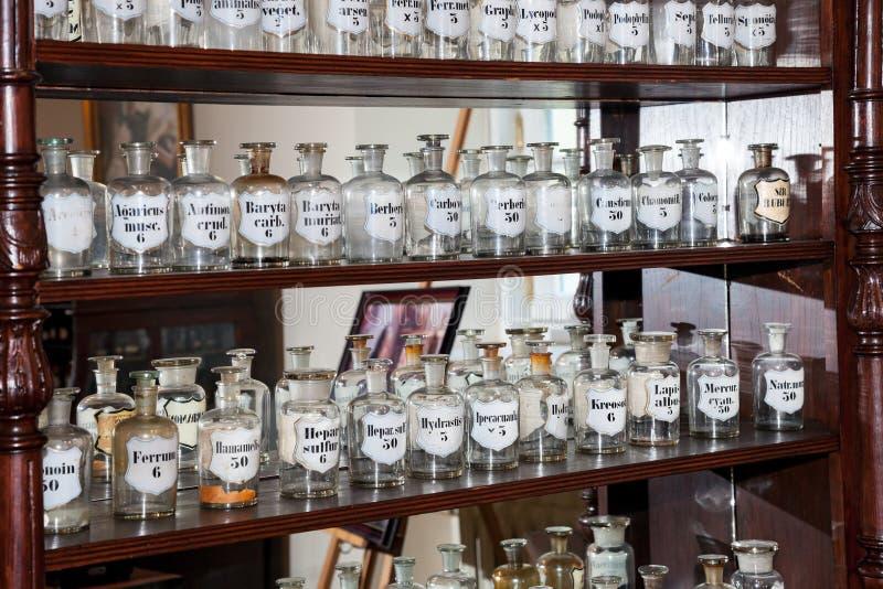 Oude geneesmiddelen royalty-vrije stock afbeeldingen