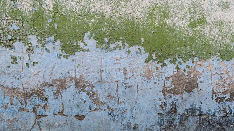 Oude geschilderde concrete muur stock foto's