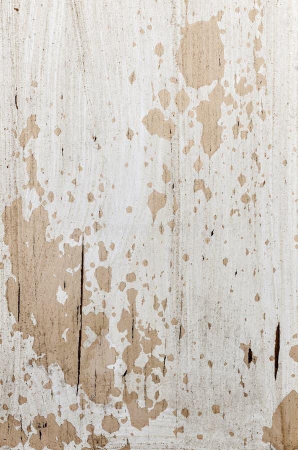 Oude geschilderde houten achtergrond stock foto's