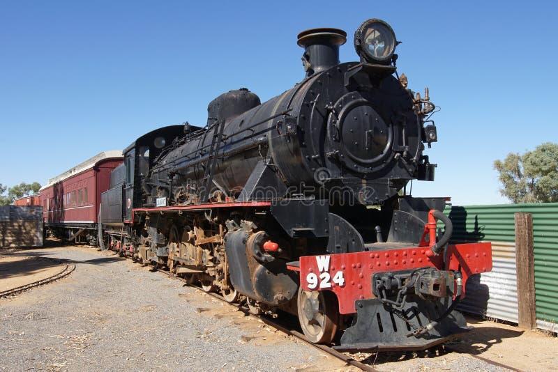Oude Ghan-Spoorweg, Australië royalty-vrije stock fotografie