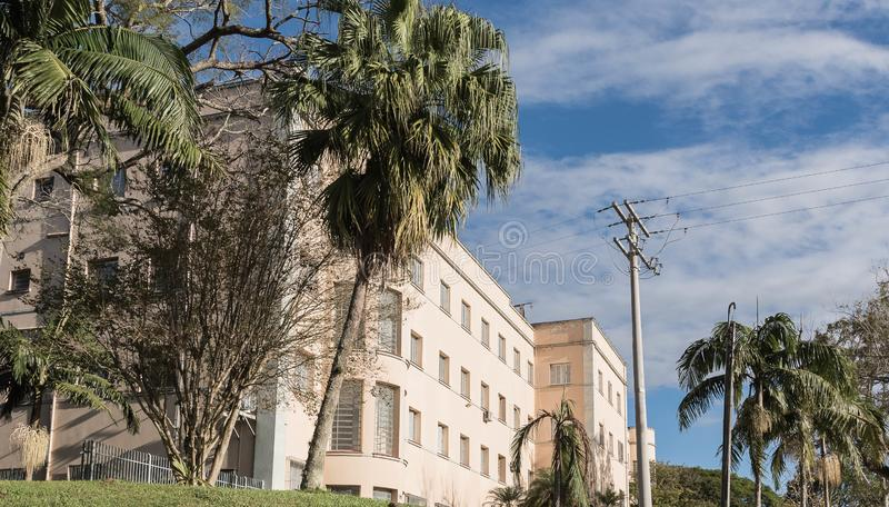 Oude godsdienstige school katholieke seminarians 03 stock fotografie