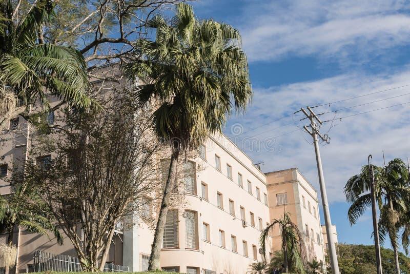 Oude godsdienstige school seminarians 02 royalty-vrije stock foto