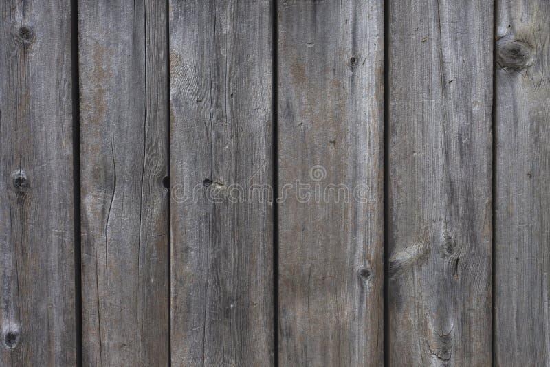 Oude grijze houten achtergrond De textuur van Grunge royalty-vrije stock foto's