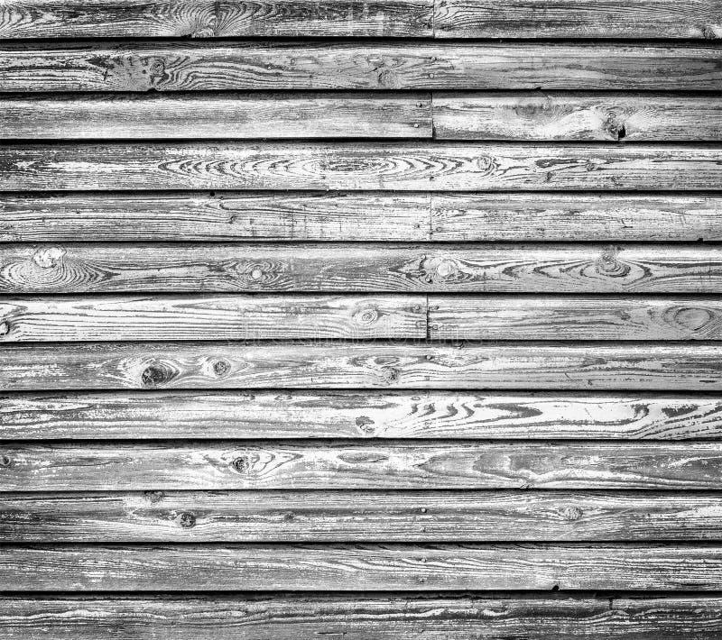 Oude grijze houten muur royalty-vrije stock afbeelding