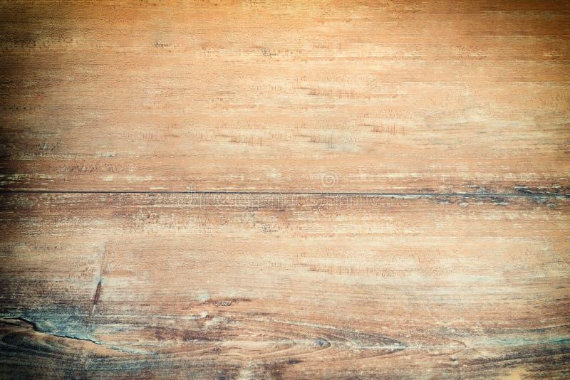 Oude grunge donkere geweven houten achtergrond, de oppervlakte van de oude bruine houten textuur, het hoogste mening bruine houte royalty-vrije stock foto