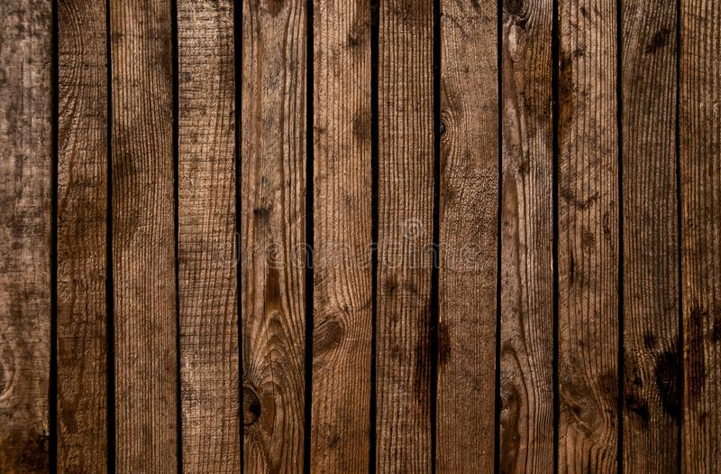 Oude grunge donkere geweven houten achtergrond De oppervlakte van o stock afbeelding