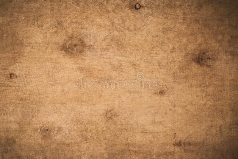 Oude grunge donkere geweven houten achtergrond, de oppervlakte van ol royalty-vrije stock foto's