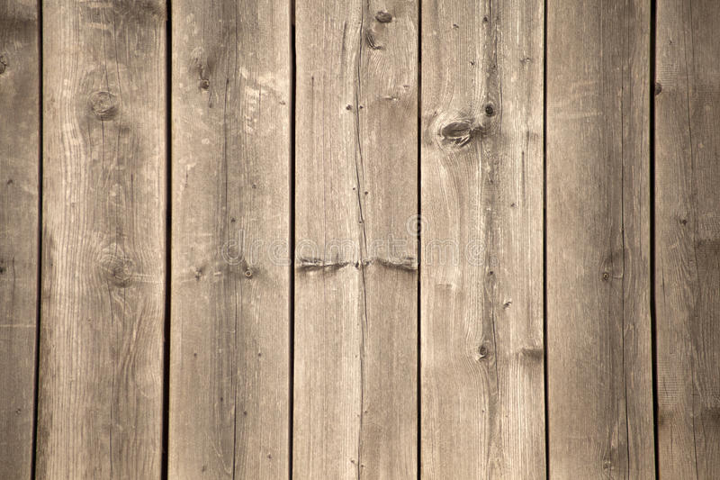Oude grunge houten die muur als achtergrond wordt gebruikt stock foto
