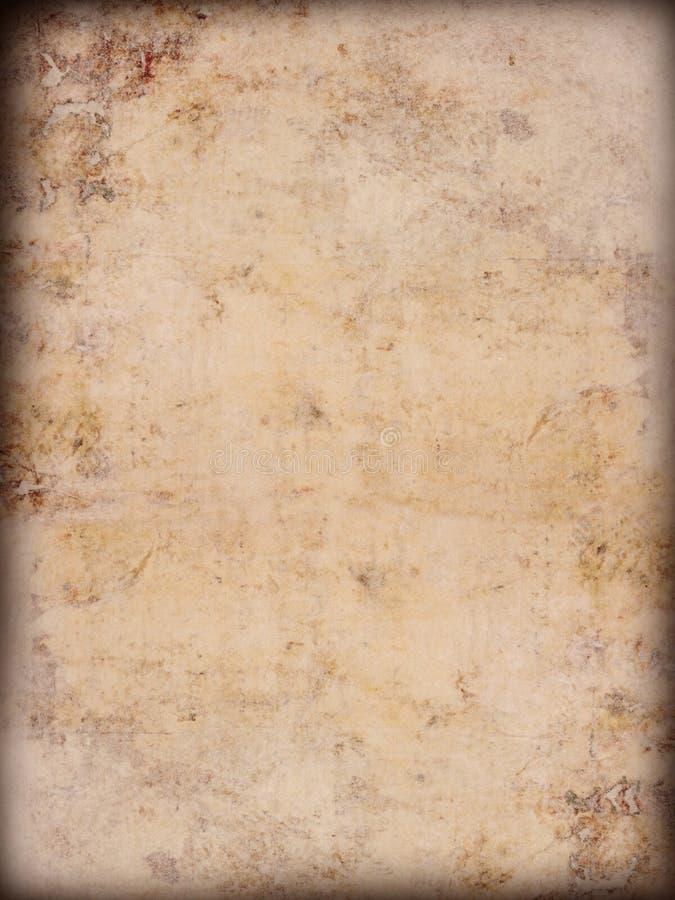 Oude grungedocument achtergrond stock afbeeldingen
