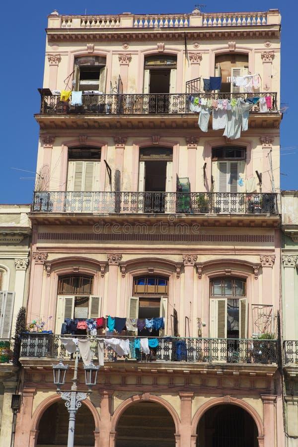 Oude Havana vlakten stock afbeelding