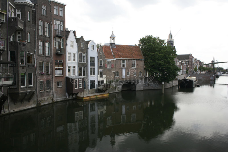 Oude haven royalty-vrije stock fotografie