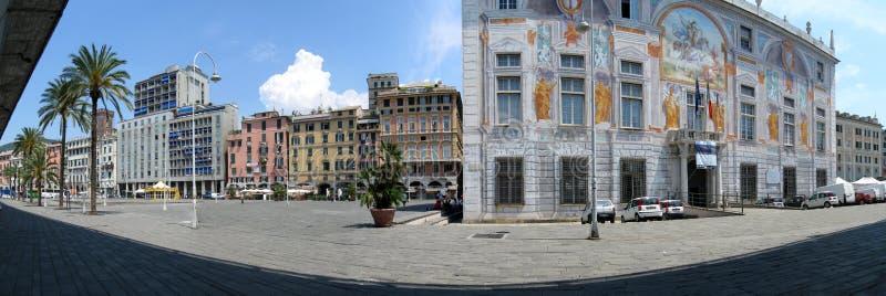 Oude haven van Genua royalty-vrije stock afbeelding