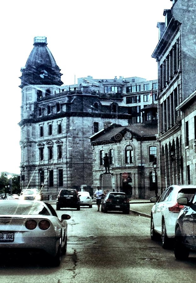 Oude haven van Montréal royalty-vrije stock foto's