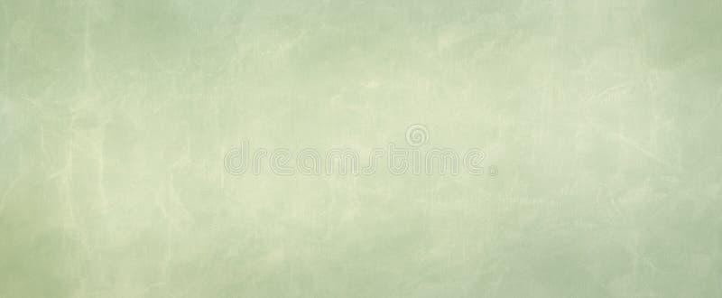 Oude het perkament van het pastelkleur Groenboek illustratie als achtergrond met gerimpeld versleten grunge textuurontwerp royalty-vrije illustratie