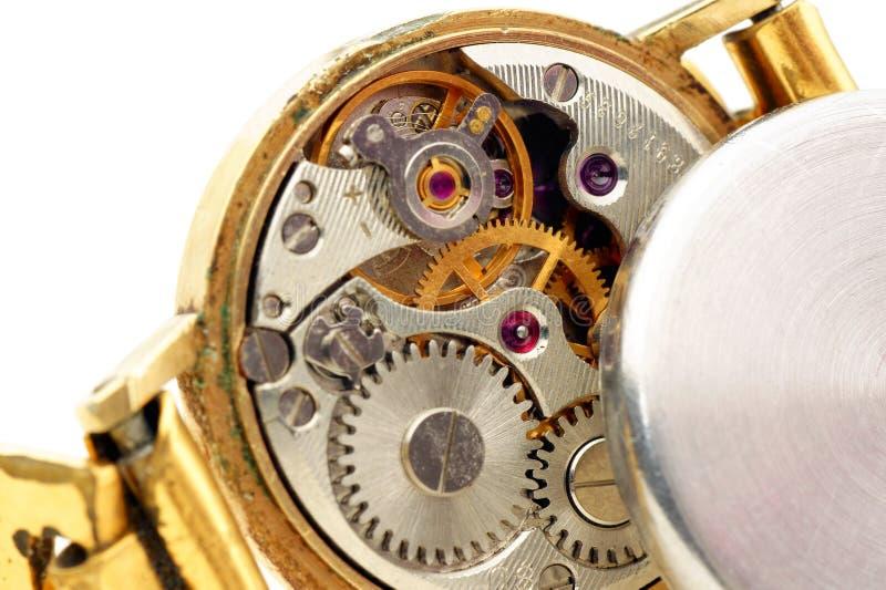 Oude horloges. royalty-vrije stock afbeeldingen