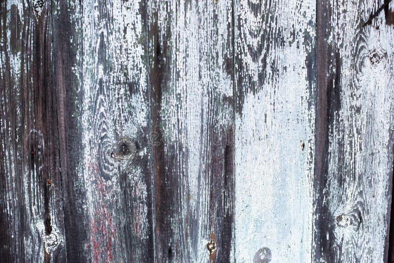 Oude hout geschilderde textuur stock afbeelding