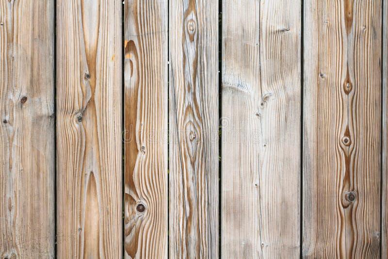 Oude houten achtergrond De rustieke grungy en doorstane lichtbruine houten achtergrond van de de planktextuur van de oppervlaktem stock foto's