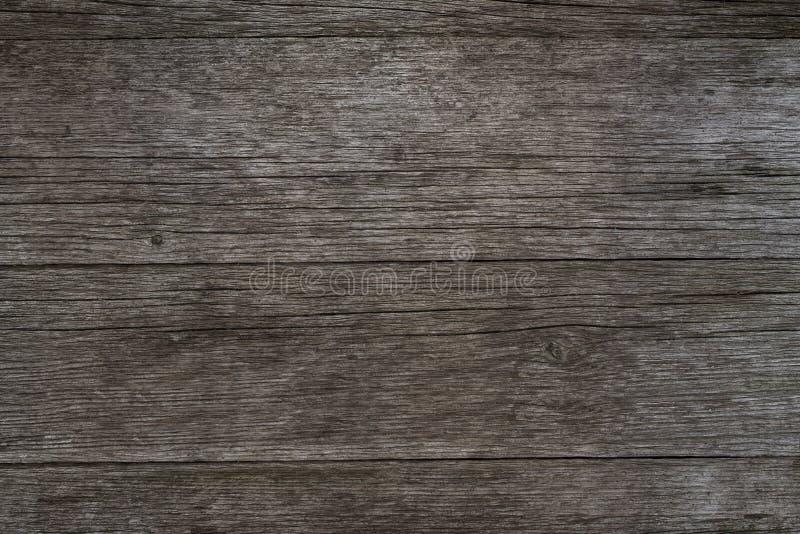 Oude houten achtergrond, rustieke houten oppervlakte met exemplaarruimte royalty-vrije stock foto