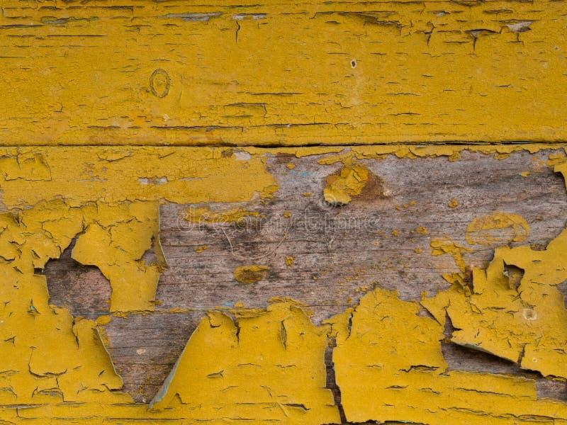 Oude houten achtergrond van raad met gebarsten en schilverf stock afbeeldingen