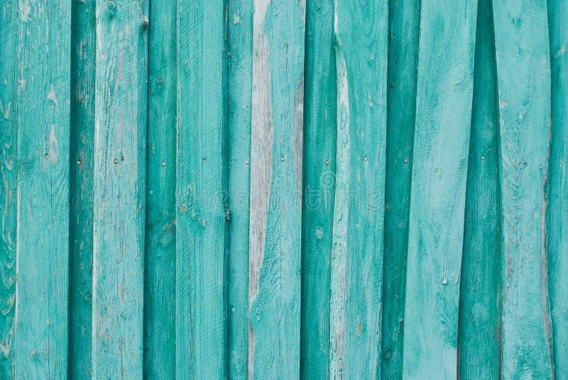 Oude houten achtergrond van raad met gebarsten en schilverf Houten textuur stock foto's