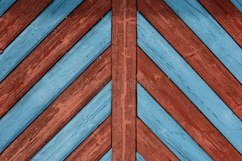 Oude houten deur in noordoostelijk Beieren royalty-vrije stock afbeelding