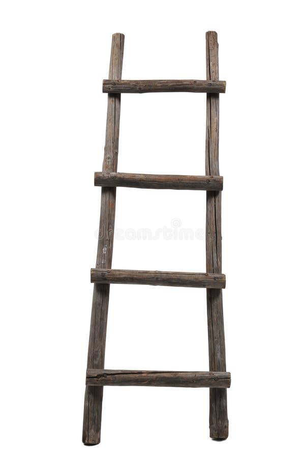 oude houten ladder stock foto afbeelding bestaande uit isolatie 18301826. Black Bedroom Furniture Sets. Home Design Ideas