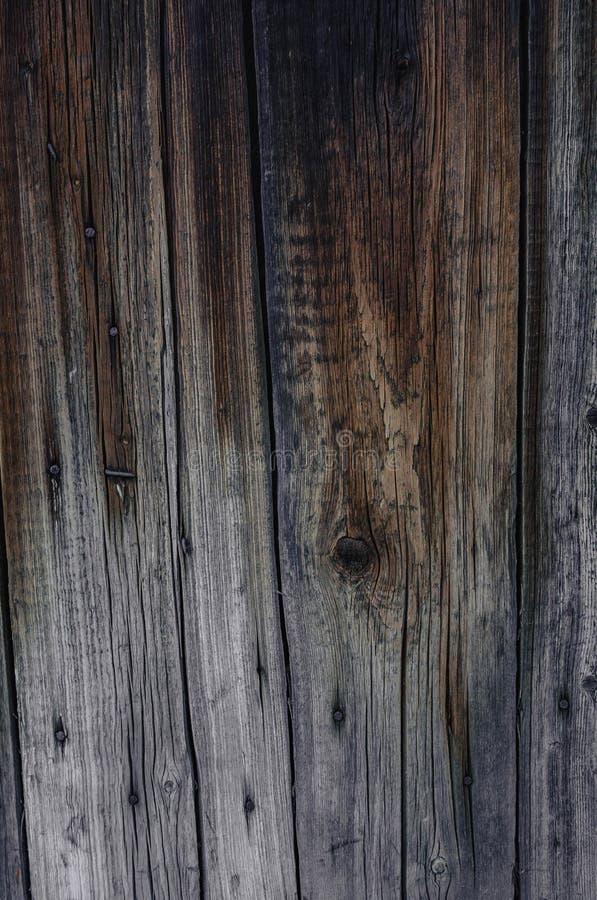 Oude houten muurtextuur met natuurlijke patronen royalty-vrije stock foto's
