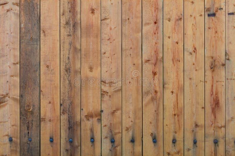 Oude houten omheiningstextuur royalty-vrije stock afbeeldingen