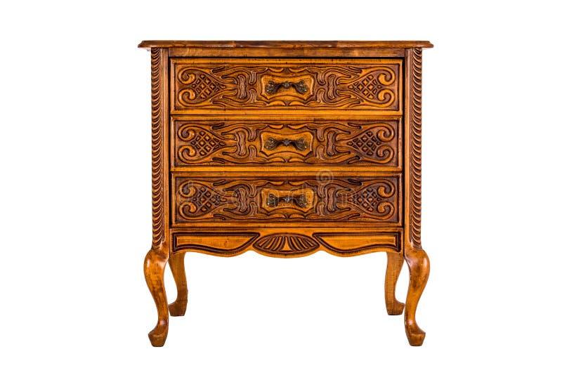 Oude houten opmaker royalty-vrije stock afbeelding