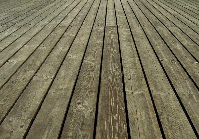 Oude houten planken royalty-vrije stock afbeelding