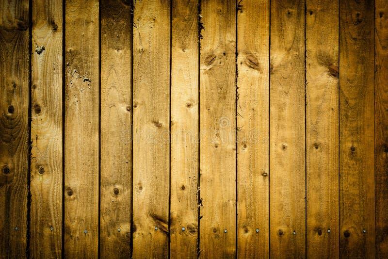Oude houten plankenomheining met vignet royalty-vrije stock fotografie