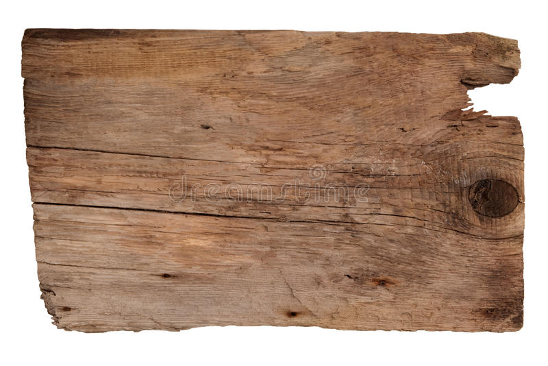 Oude houten raad royalty-vrije stock foto's