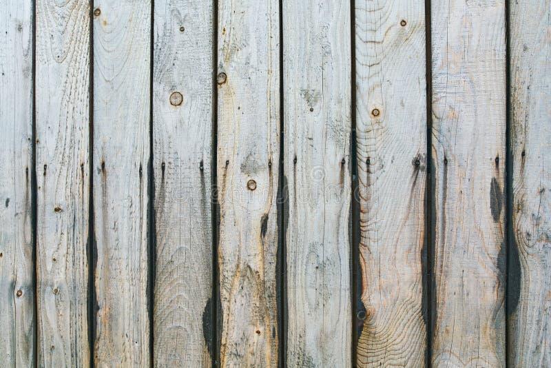 Oude houten van de plankomheining textuur als achtergrond stock afbeeldingen