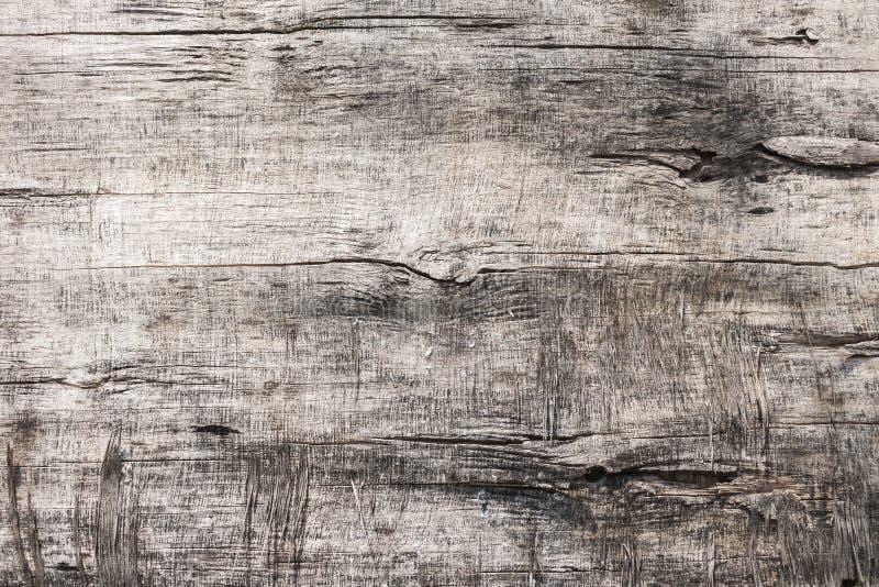 Oude houten vlakke textuur royalty-vrije stock foto