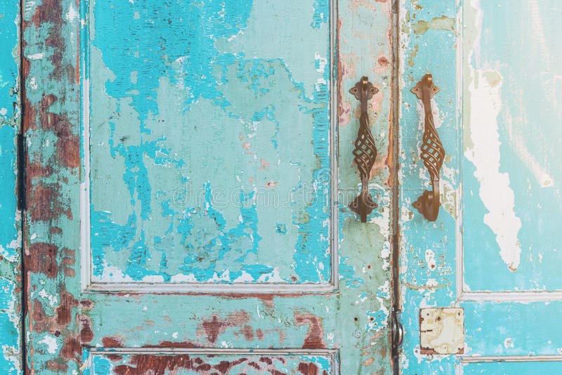 Oude huisdeur stock afbeeldingen
