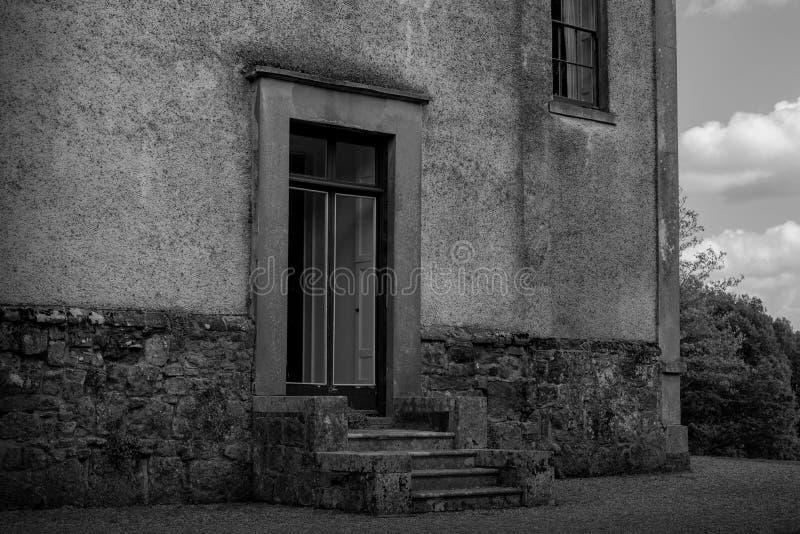 Oude huisingang royalty-vrije stock foto