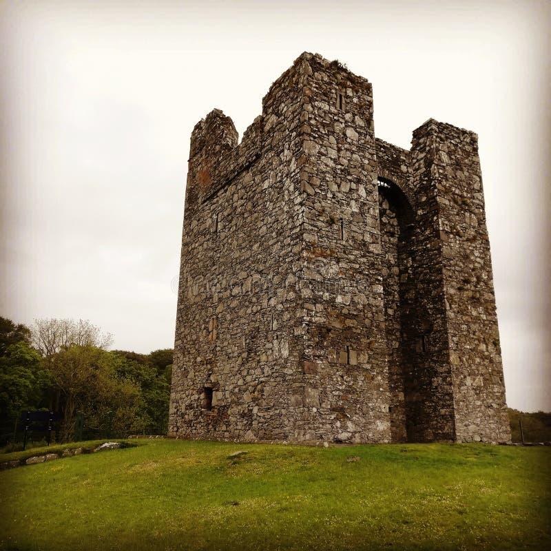 Oude, Ierland & x27;s en het & x27;s kastelen stock foto