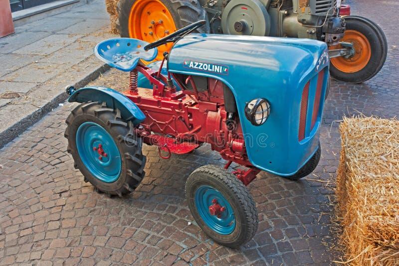 Oude Italiaanse tractor royalty-vrije stock foto's