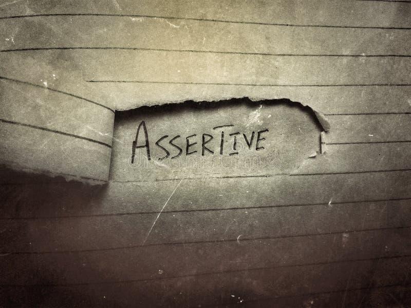 oude jaargang donker papier blanco pagina ' ' s besnoeiing assertief geschreven door hand stock foto's