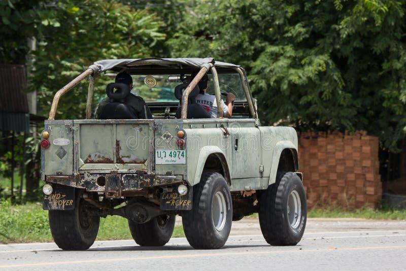 Oude Jeep Private-auto stock foto