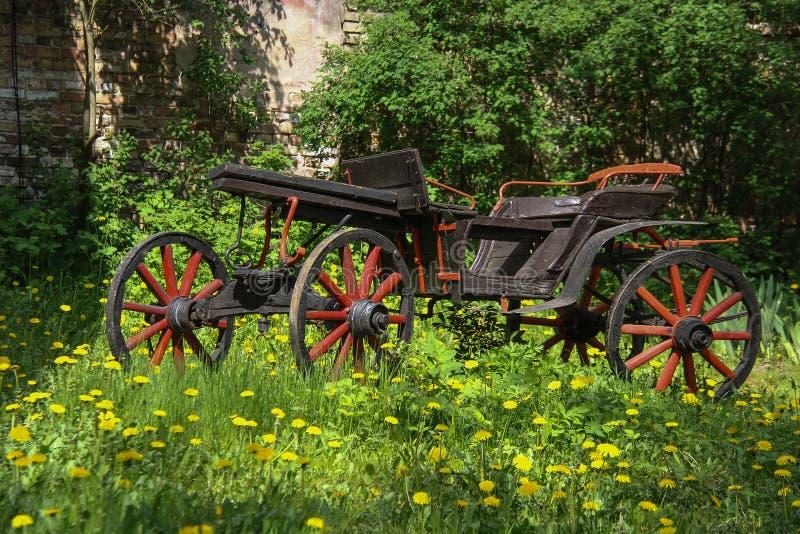 Oude Kar stock afbeelding