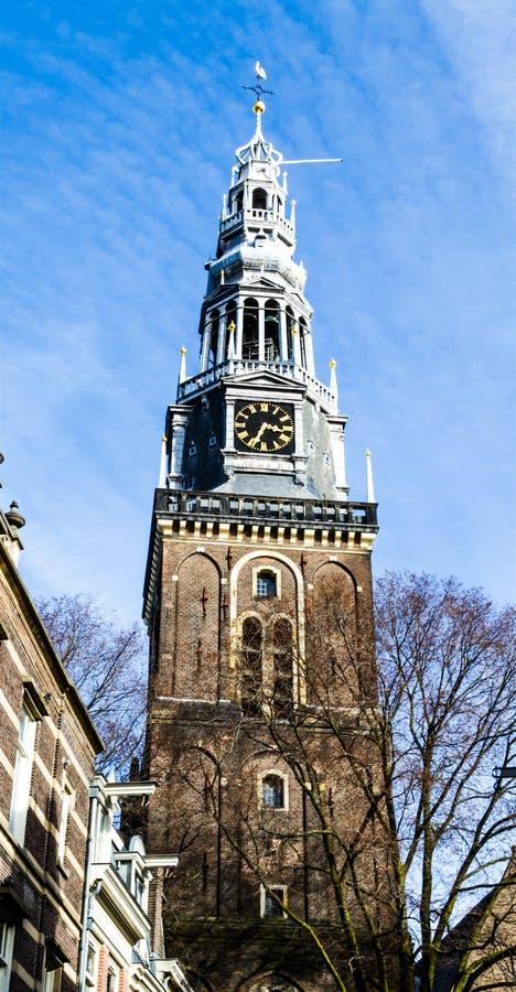 Oude Kerk à Amsterdam image libre de droits