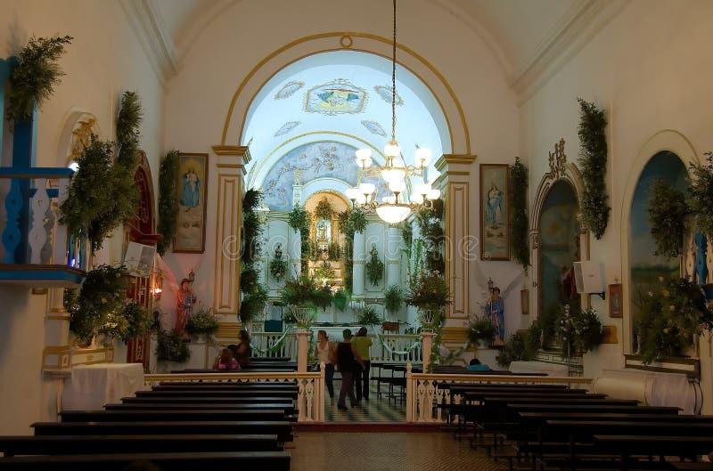 Oude kerk stock afbeeldingen