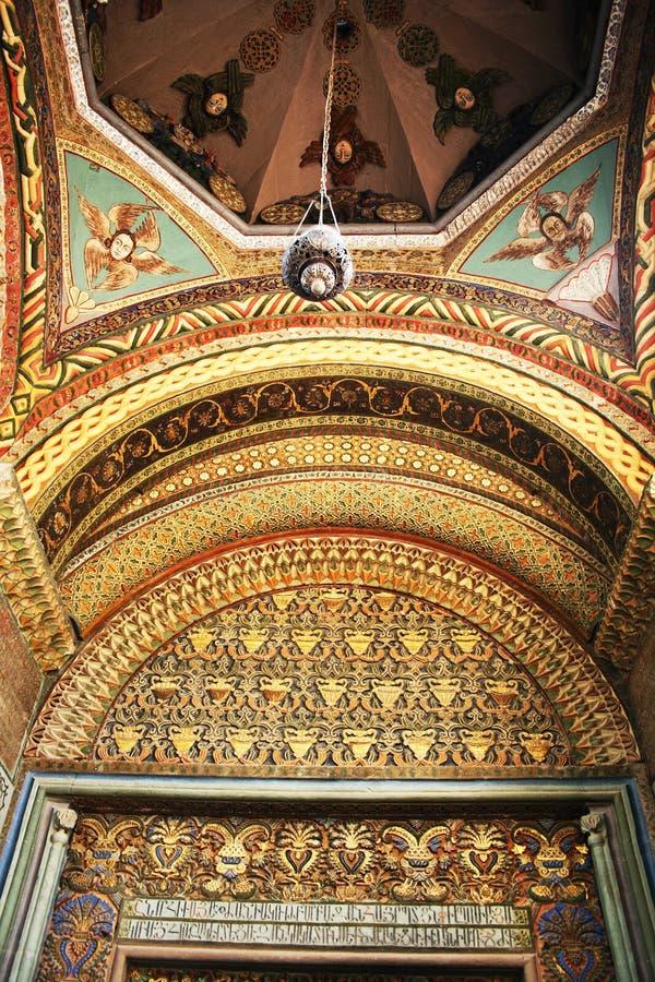 Oude kerk in Armenië stock afbeelding
