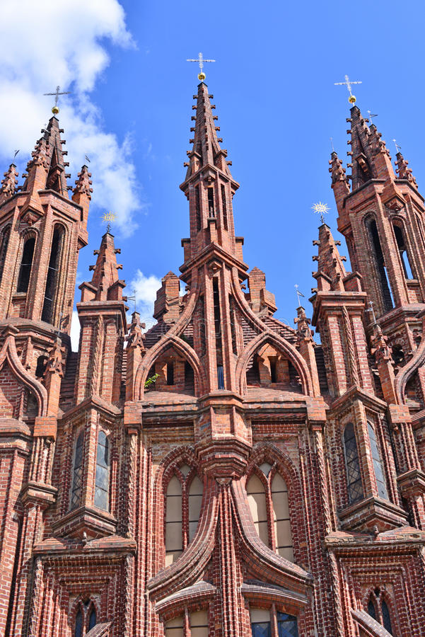 Oude kerk in Europa stock foto