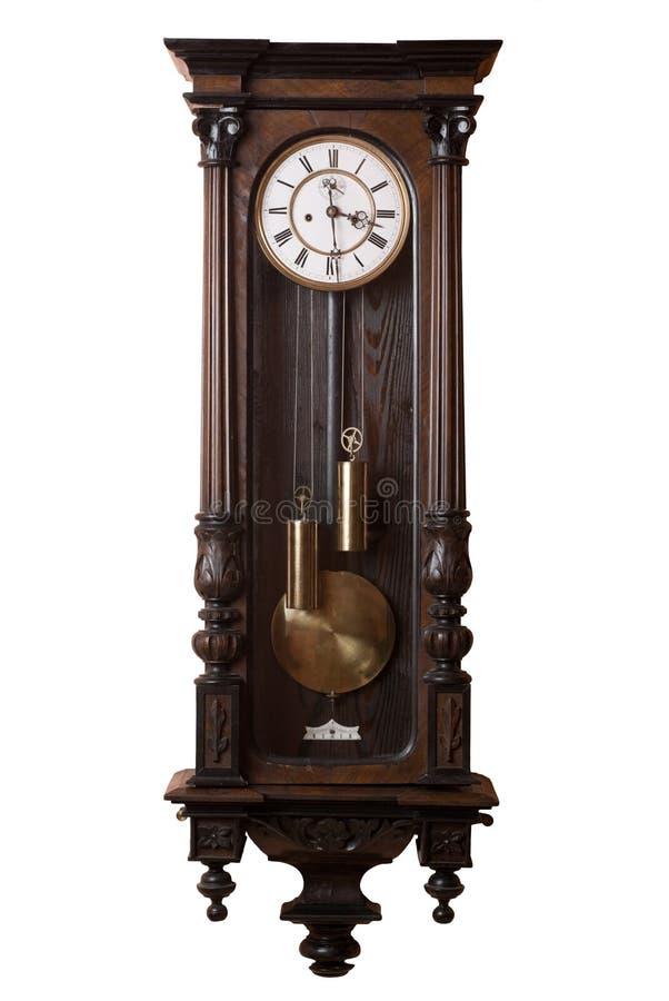 Oude klok. royalty-vrije stock fotografie