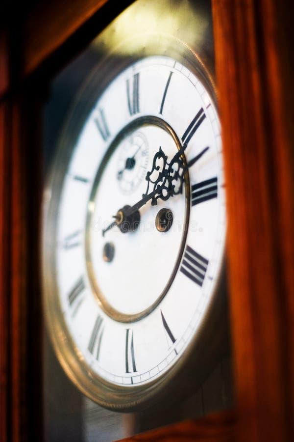 Oude klokken royalty-vrije stock foto's