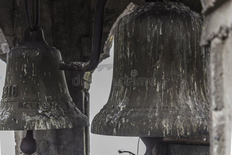 Oude klokken van het klooster royalty-vrije stock foto