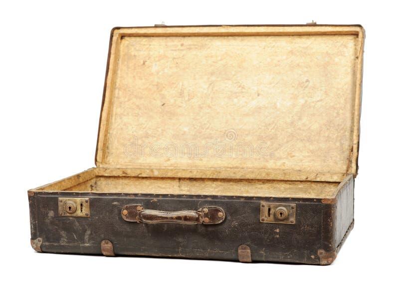 Oude koffer royalty-vrije stock foto