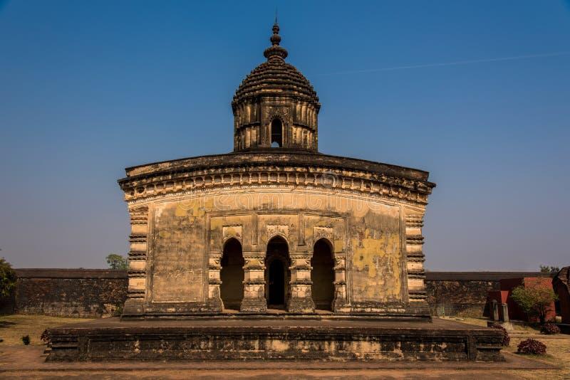 Oude Lalji-tempel in Bishnupur royalty-vrije stock afbeeldingen